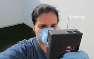 Determinación de cloro residual libre con DPD por comparación visual