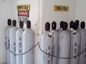 Correcta señalización de botellas en uso / desuso.